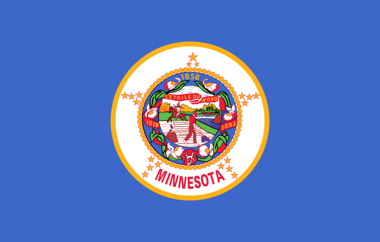 flaga Minnesoty